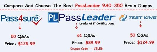 PassLeader 9A0-350 Brain Dumps[17]