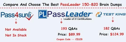 PassLeader 150-820 Exam Questions[26]
