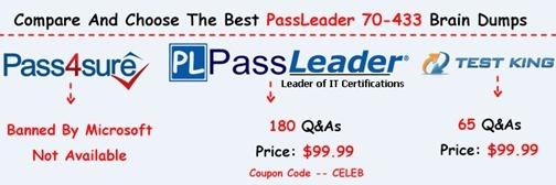 PassLeader 70-433 Exam Dumps[25]