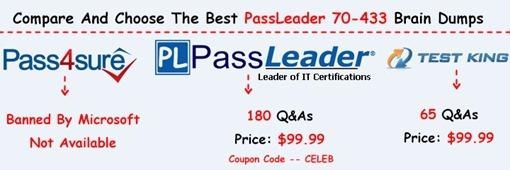 PassLeader 70-433 Exam Dumps[26]