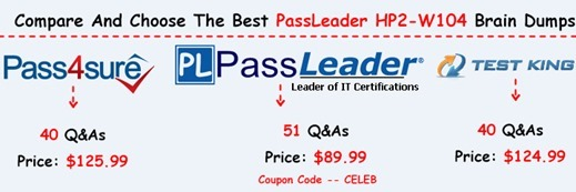 PassLeader HP2-W104 Exam Dumps[7]